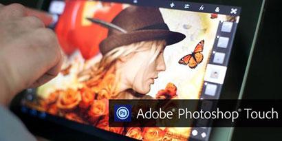 Imagem de Agora você pode ter o Photoshop no seu tablet com Android no site TecMundo