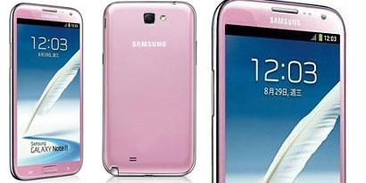 Imagem de Samsung Galaxy Note 2 agora está disponível em cor-de-rosa no site TecMundo