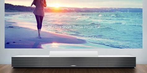 Imagem de Sony apresenta projetor 4K que pode ficar a poucos centímetros da parede no site TecMundo