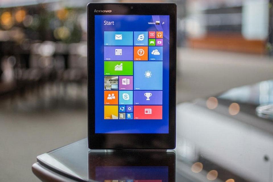 Imagem de Miix 300, o tablet com Windows 8.1 mais barato já lançado pela Lenovo no site TecMundo