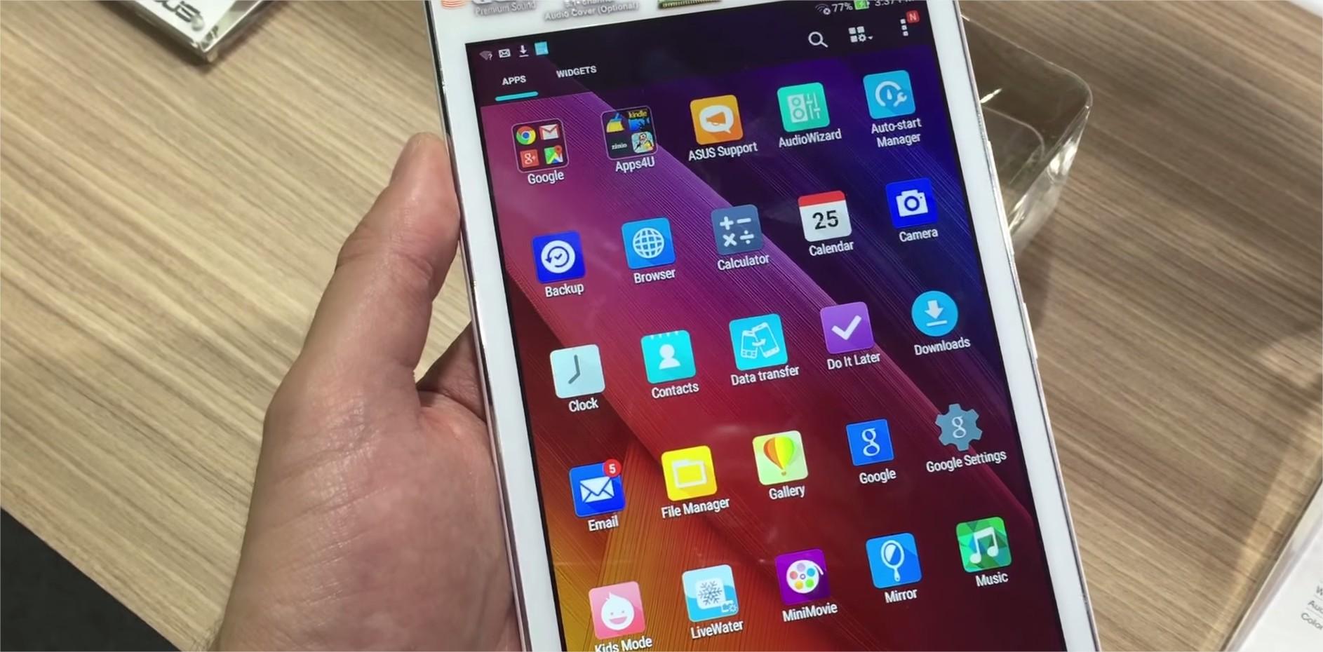 Imagem de Primeiras impressões: testamos o tablet ASUS ZenPad 7 [vídeo] no tecmundo