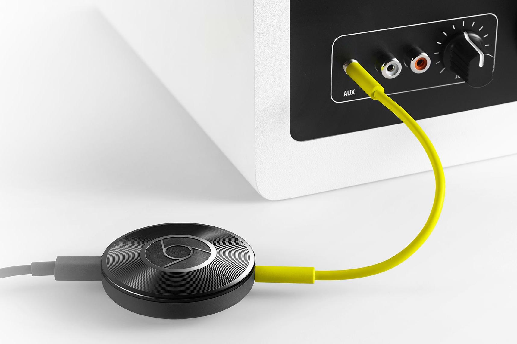 Imagem de Chromecast Audio: aparelho transmite música para qualquer caixa de som no tecmundo