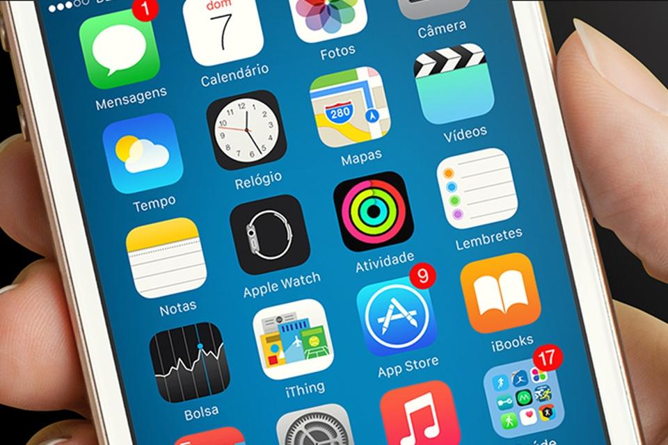 "Imagem de Dica: como ""esconder"" apps de fábrica no iOS 9 e deixar a interface enxuta no tecmundo"