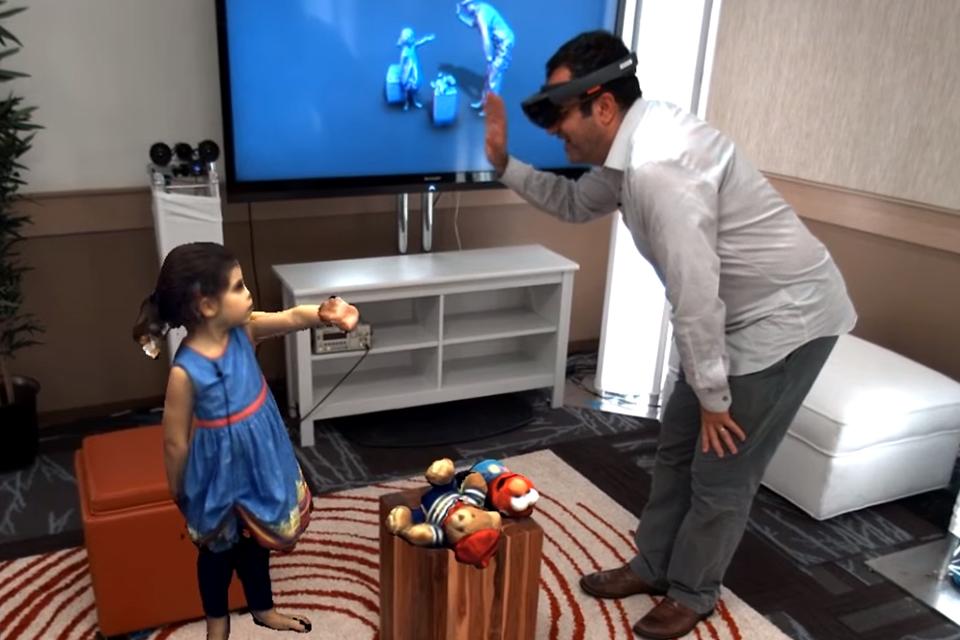 Imagem de Holoportation: Microsoft criou seu próprio comunicador holográfico [vídeo] no tecmundo