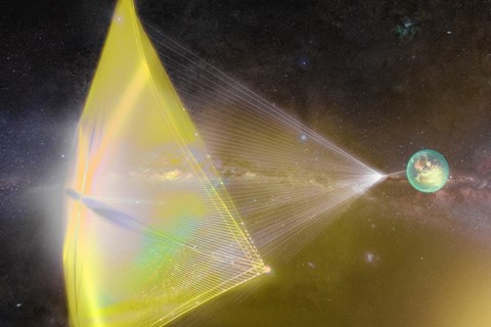 Imagem de Stephen Hawking quer criar nave capaz de chegar perto da velocidade da luz no tecmundo