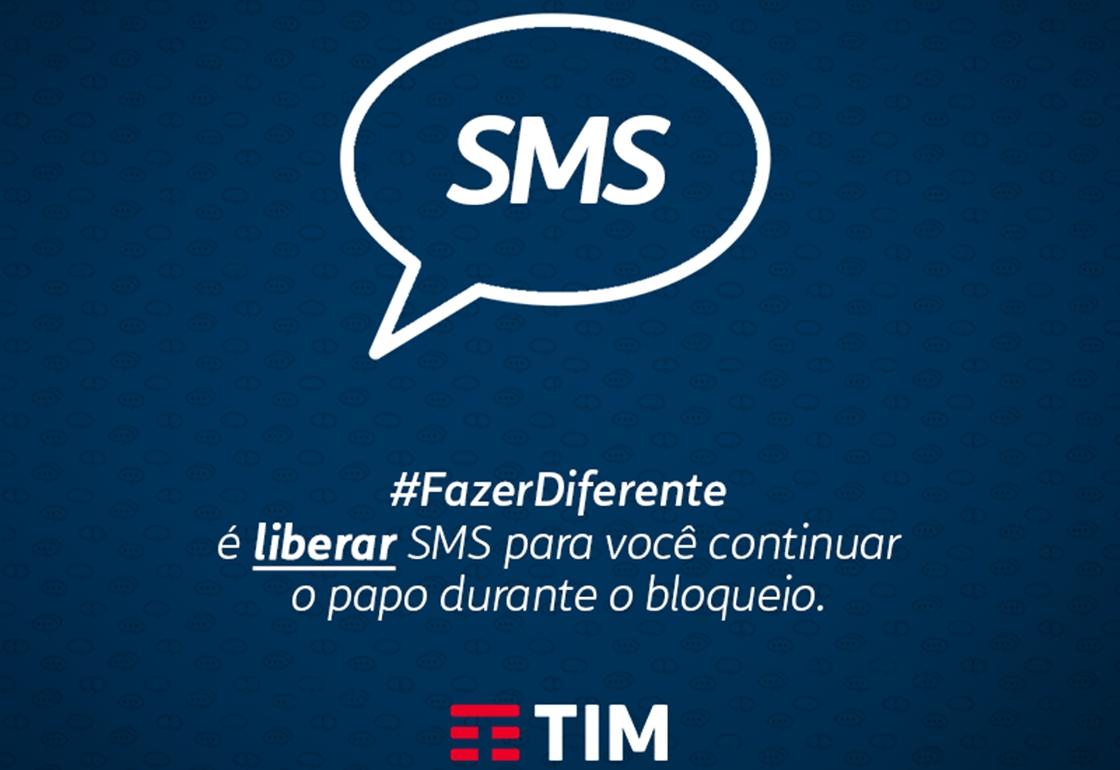 Imagem de TIM dá mensagens SMS grátis para clientes enquanto WhatsApp está fora do ar no tecmundo
