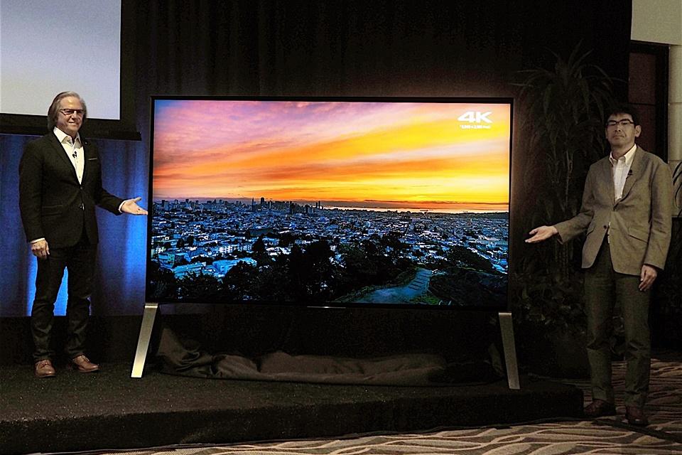 """Imagem de Nova série de TVs 4K HDR da Sony tem modelo de 100"""" e deve chegar ao Brasil no tecmundo"""