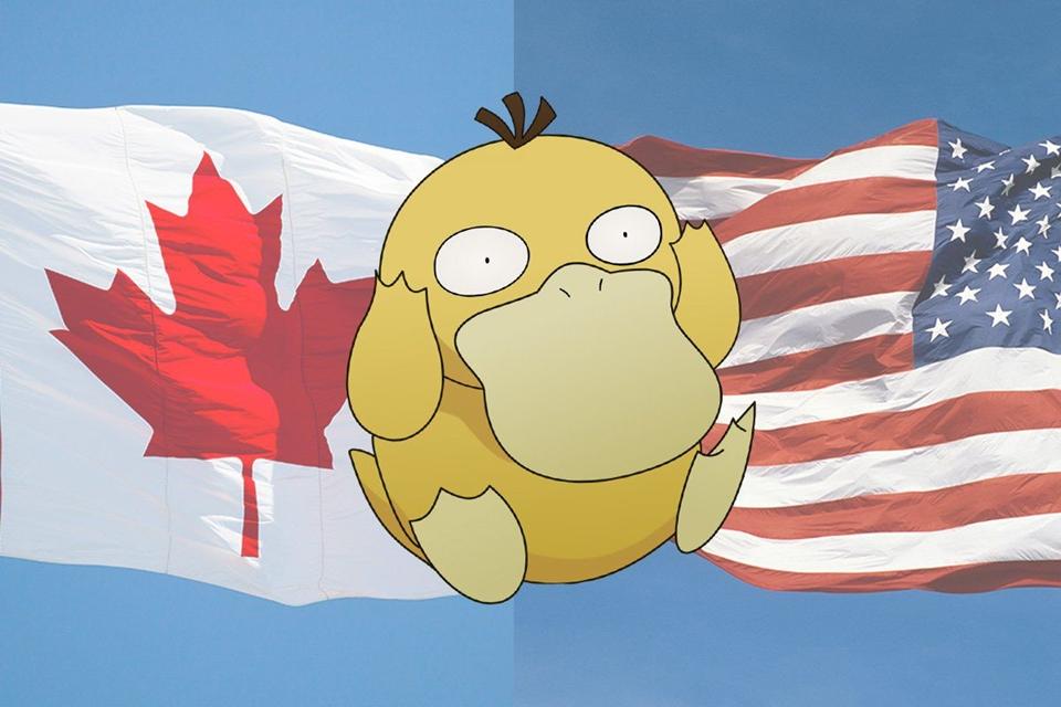 Imagem de Pokémon GO causa invasão ilegal de fronteira entre Canadá e EUA no tecmundo