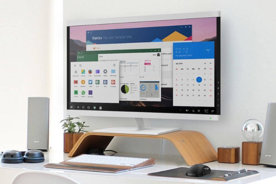 Imagem de Remix OS para PC muda radicalmente após update para Android Marshmallow no tecmundo