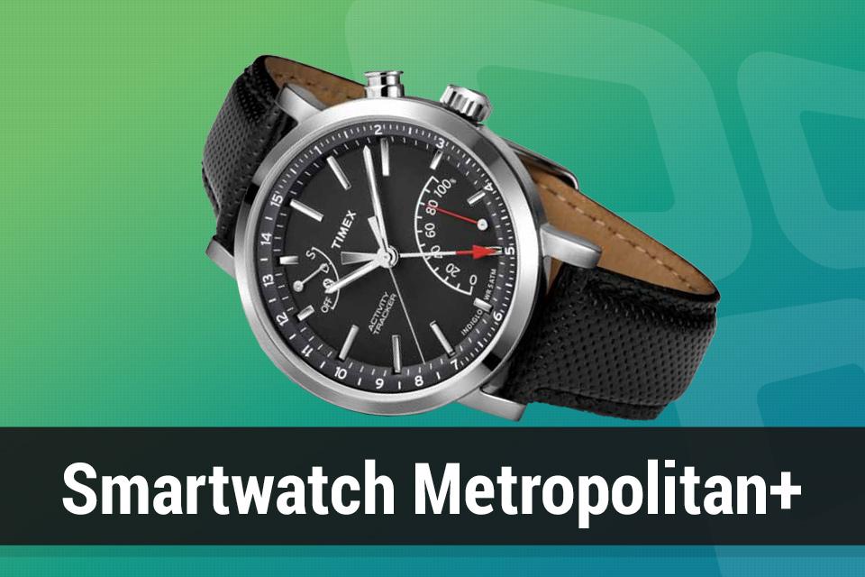 Imagem de Review: relógio Timex Metropolitan+ com rastreador de atividades no tecmundo