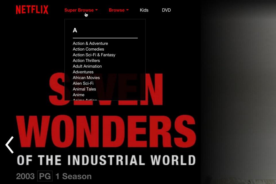 Imagem de Saiba como encontrar as categorias secretas da Netflix no tecmundo