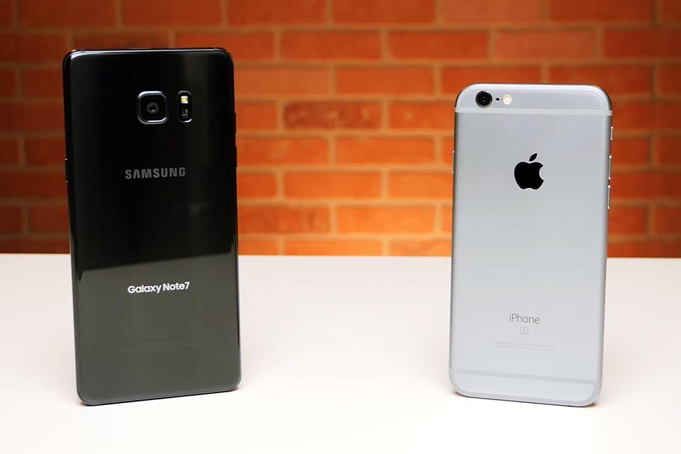 Imagem de Injusto? Vídeo mostra iPhone 6s arrasando Note 7 em testes de desempenho no tecmundo