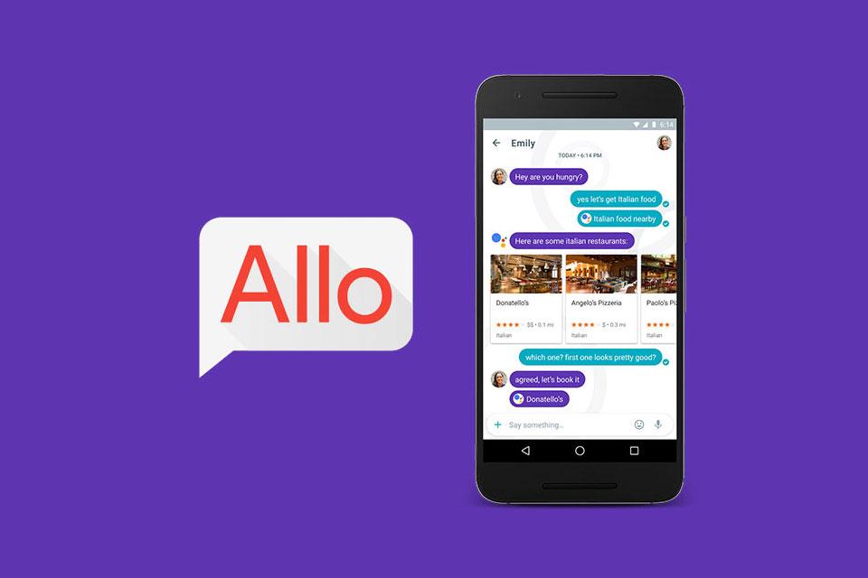 Imagem de Google Allo, o concorrente do WhatsApp, deve ser lançado esta semana no tecmundo
