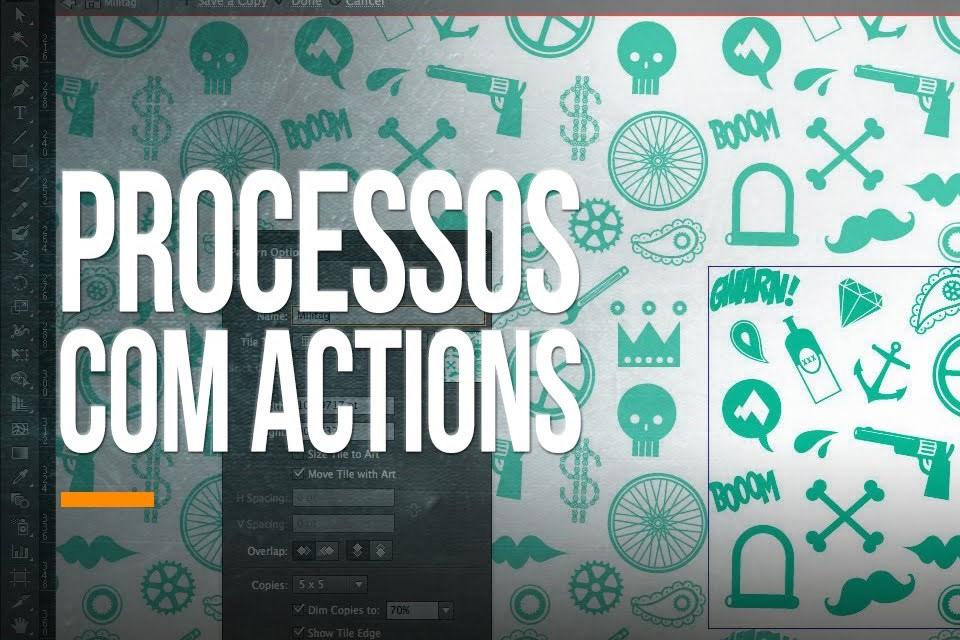 Imagem de Videoaula: aprenda sobre o processamento em lote com actions no Illustrator no tecmundo