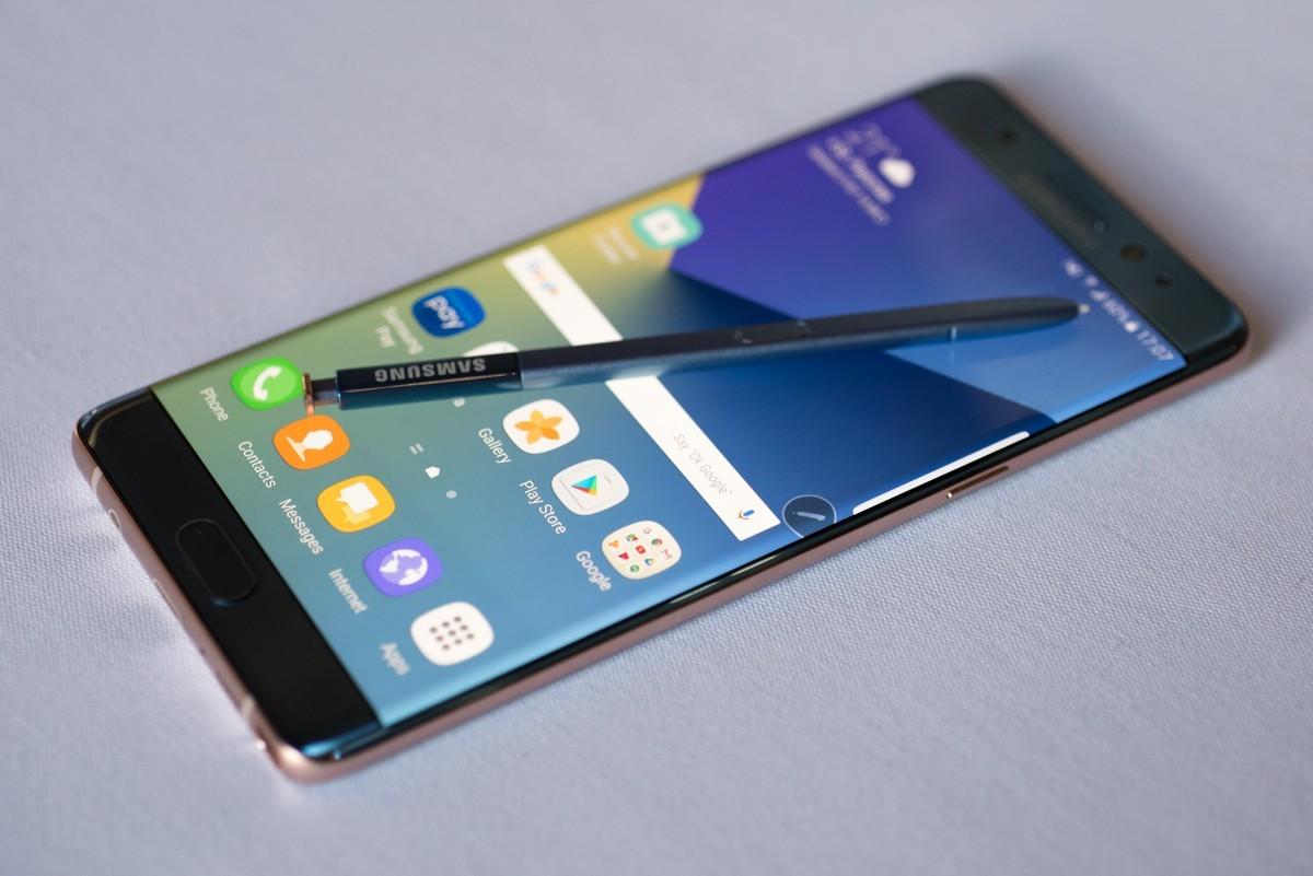 Imagem de Indicador de bateria do Galaxy Note 7 muda após recall; veja como ficou no tecmundo