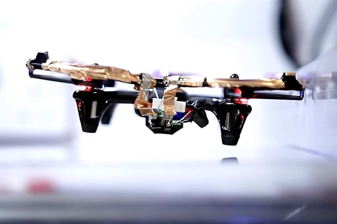 Imagem de Conheça o primeiro drone que voa sem bateria no tecmundo