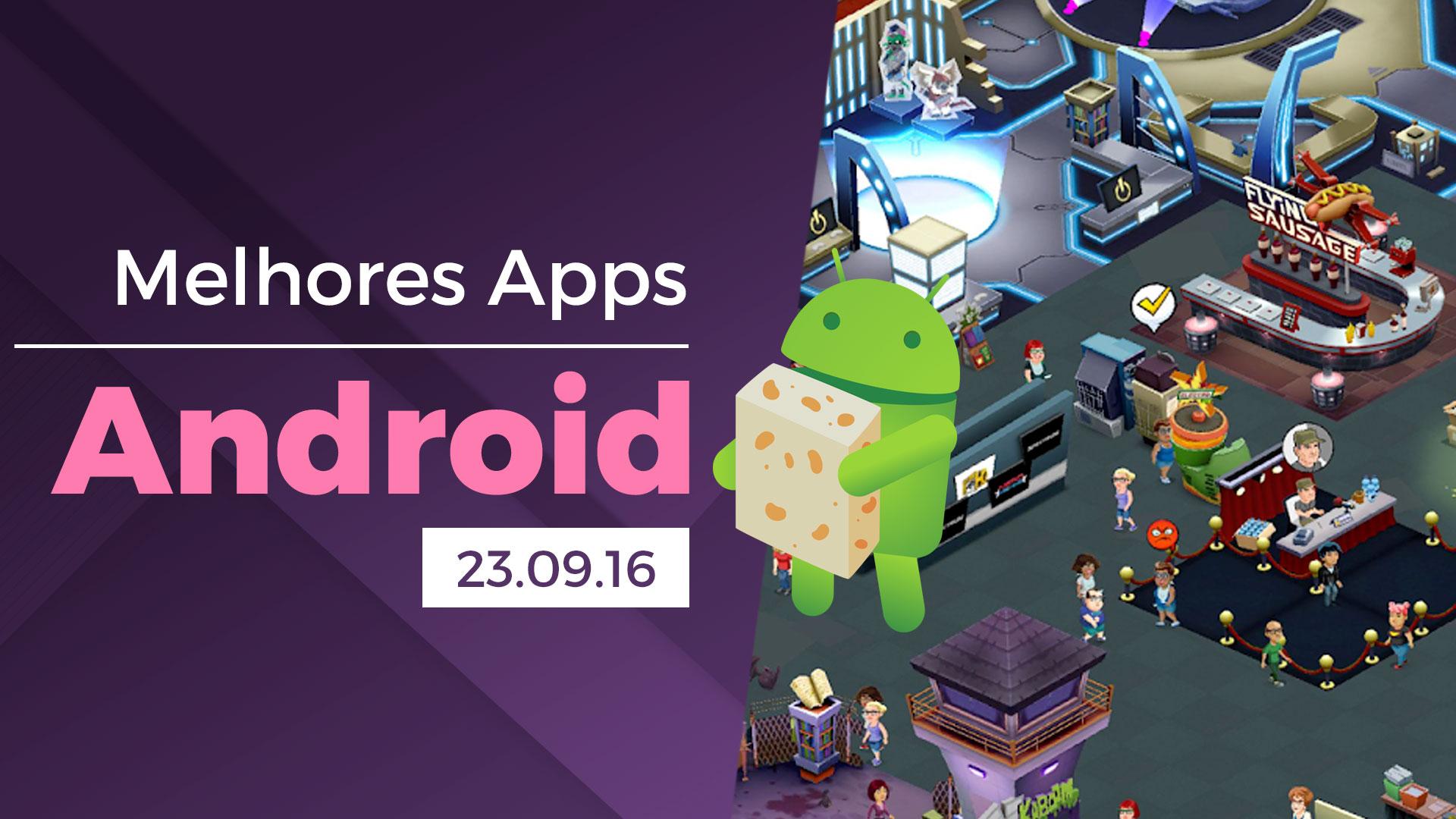 Imagem de Melhores apps para Android: 23/09/2016 [vídeo] no tecmundo