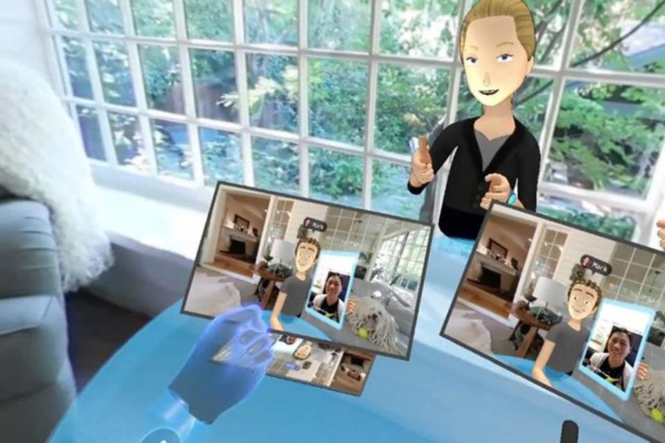 Imagem de Futuro já? Mark Zuckerberg mostra app VR para interagir com outras pessoas no tecmundo