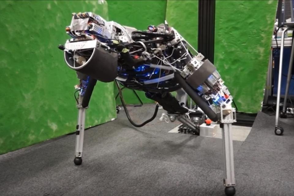 Imagem de Este robô é capaz de transpirar (e consegue fazer flexões por 11 minutos) no tecmundo