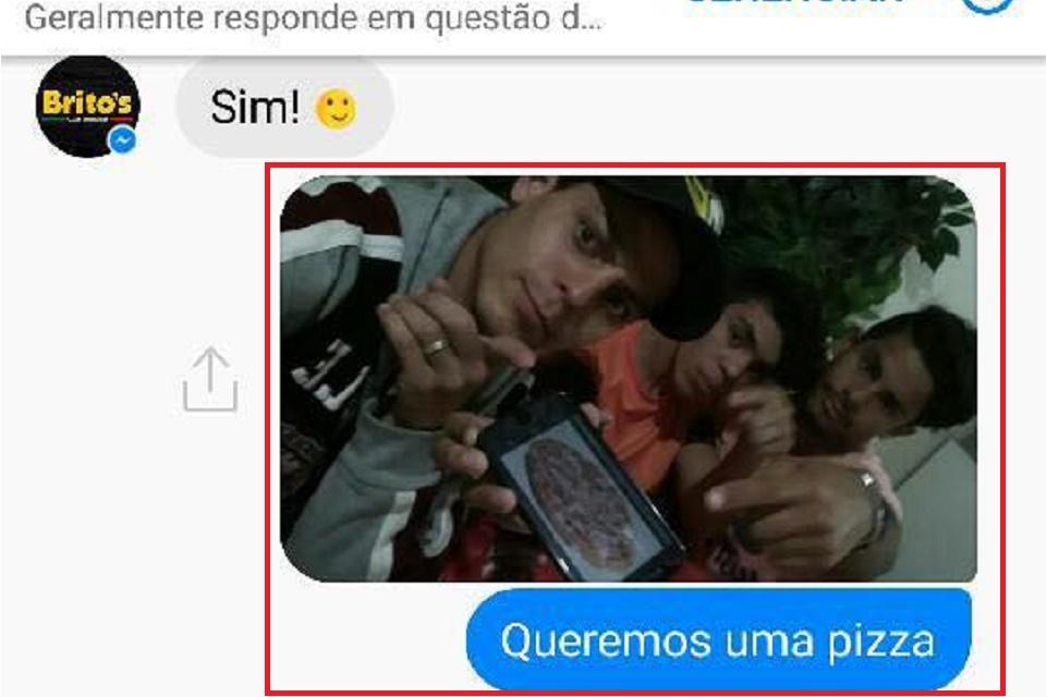 Imagem de Pedido de pizza por inbox no Facebook mostra por que o Brasil é lindo no tecmundo