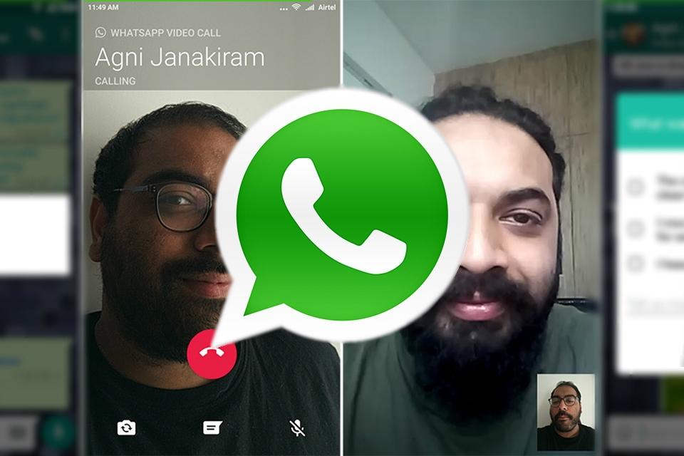 Imagem de Tá chegando! Versão Beta do WhatsApp para Android já tem videochamadas no tecmundo