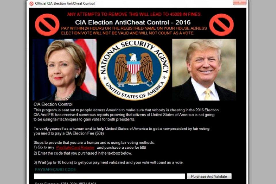"""Imagem de Malware """"da CIA"""" consegue ser pior que o do príncipe nigeriano no tecmundo"""