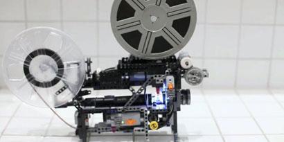 Imagem de Conheça o projetor de filmes Super 8 feito com peças de LEGO no site TecMundo