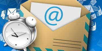 Imagem de Como mandar emails com horário agendado no site TecMundo