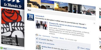 Imagem de Facebook estreia nova função de tradução automática no site TecMundo