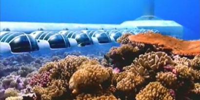Imagem de Conheça Poseidon, o hotel que fica a 40 pés embaixo da água no site TecMundo