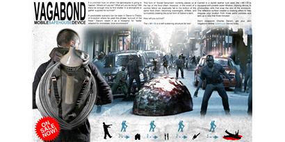 Imagem de Bunker portátil promete proteção contra zumbis no site TecMundo