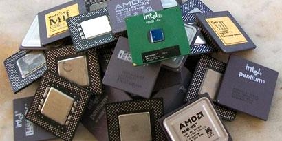 Imagem de Experimento mostra como extrair ouro de processadores velhos no site TecMundo