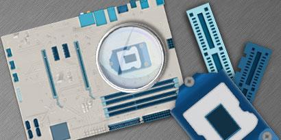 Imagem de Para que serve cada componente da placa-mãe [infográfico] no site TecMundo