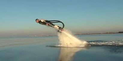 Imagem de Jetpack pode transformar você em golfinho [vídeo] no site TecMundo