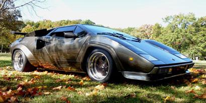 Imagem de Homem constrói Lamborghini do zero no site TecMundo