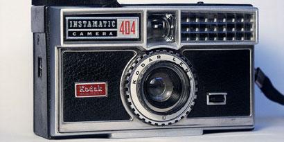 Imagem de O triste fim da Kodak no site TecMundo
