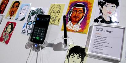 Imagem de Testamos a Samsung Galaxy Note S Pen [vídeo] no site TecMundo