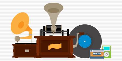Imagem de A evolução do armazenamento de músicas [infográfico] no site TecMundo