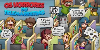 Imagem de Erro 404: os horrores do telemarketing [ilustração] no site TecMundo