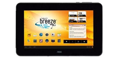 Imagem de AOC lança tablet Breeze de 7 polegadas no site TecMundo