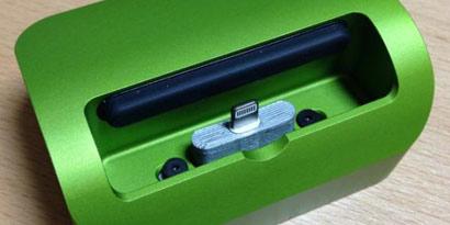 Imagem de iPhone 5: usuários utilizam impressoras 3D para criar adaptadores para o Elevation Dock no site TecMundo