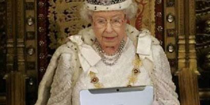 Imagem de Rainha britânica usa Galaxy Note como cápsula do tempo digital no site TecMundo