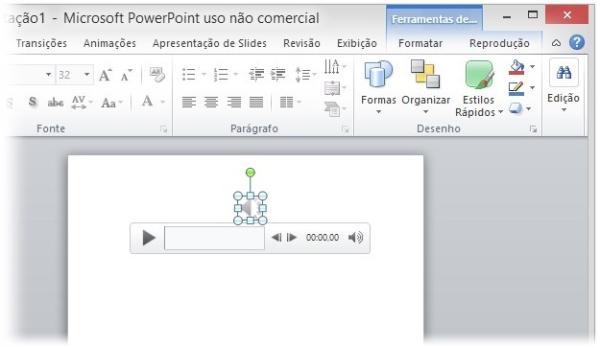 dd6810d2b03ea Ao clicar sobre ele, a barra de controles será mostrada na tela, permitindo  que você execute a música para ter certeza de que o arquivo selecionado é o  ...