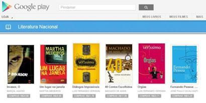 Imagem de Google Play: como fazer para comprar livros digitais em português no site TecMundo