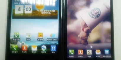 Imagem de Imagem vazada mostra LG Optimus Vu ao lado do seu principal concorrente, o Galaxy Note no site TecMundo