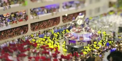 Imagem de Vídeo incrível mostra Rio de Janeiro em versão miniaturizada no site TecMundo
