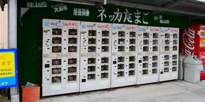 Imagem de Máquina automática que vende ovos: tecnologia que você só vê no Japão! no site TecMundo