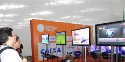 Imagem de Os consoles e games mais irados estão na Campus Party no site TecMundo