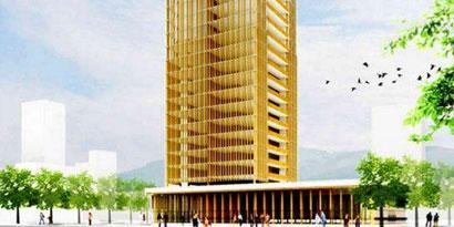 Imagem de Canadenses apresentam projeto de edifício de madeira no site TecMundo