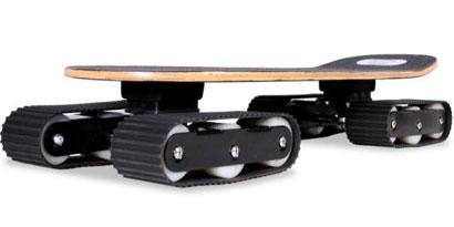 Imagem de Descender: o skate com rodas de tanque de guerra [vídeo] no site TecMundo